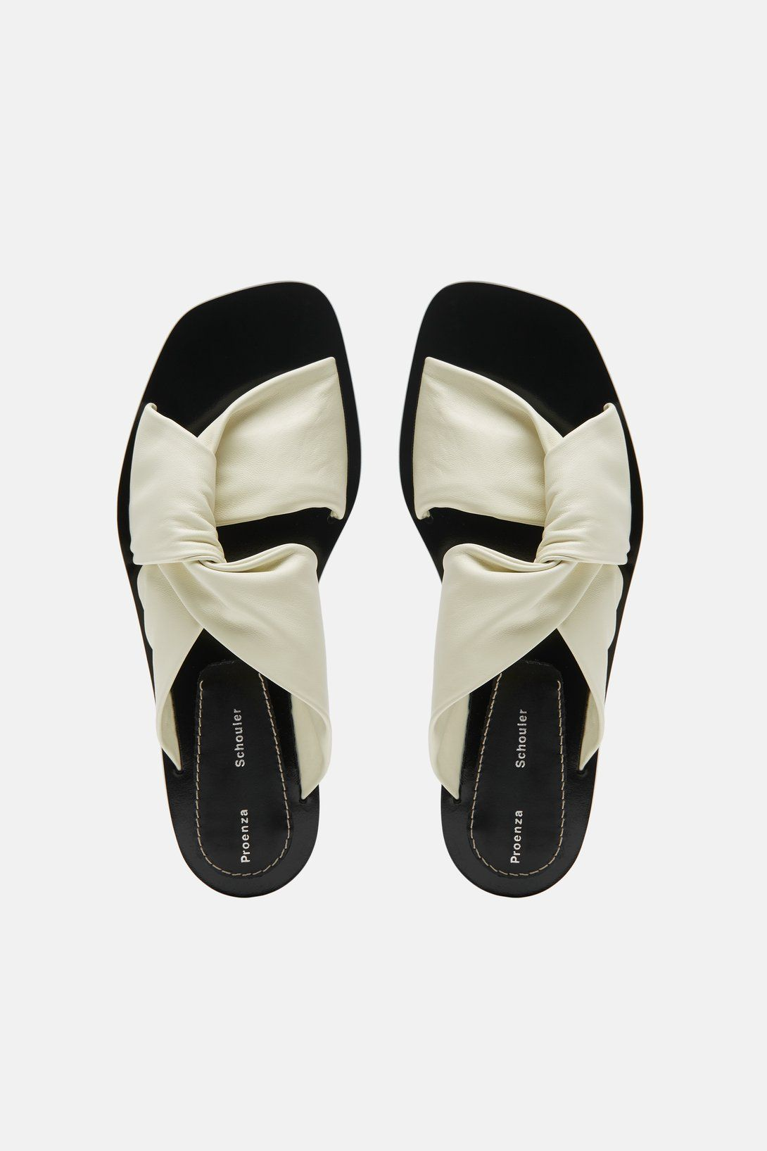 Side Twist Sandal - Off White