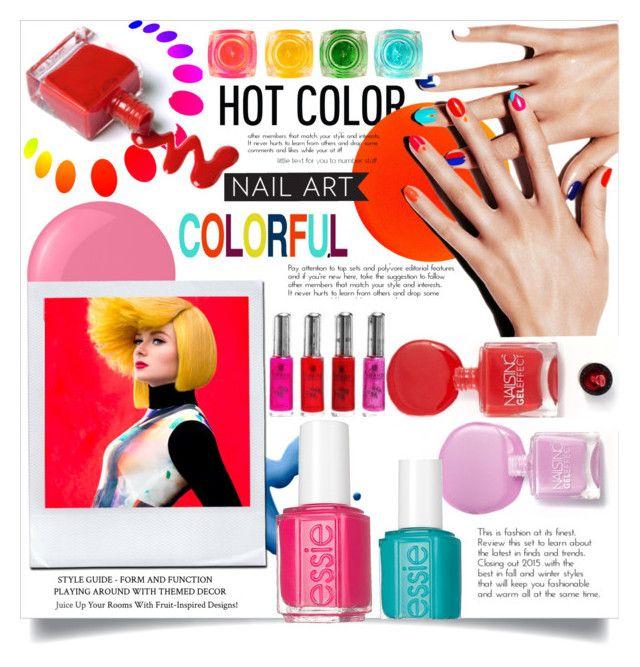 Colorful Nail art\