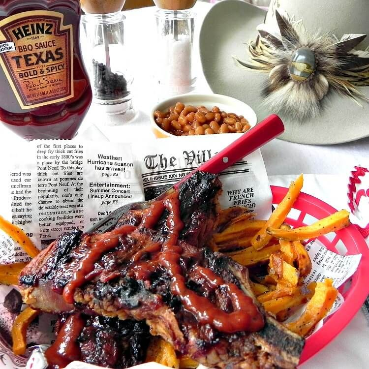 Grilled BBQ Country Pork Ribs