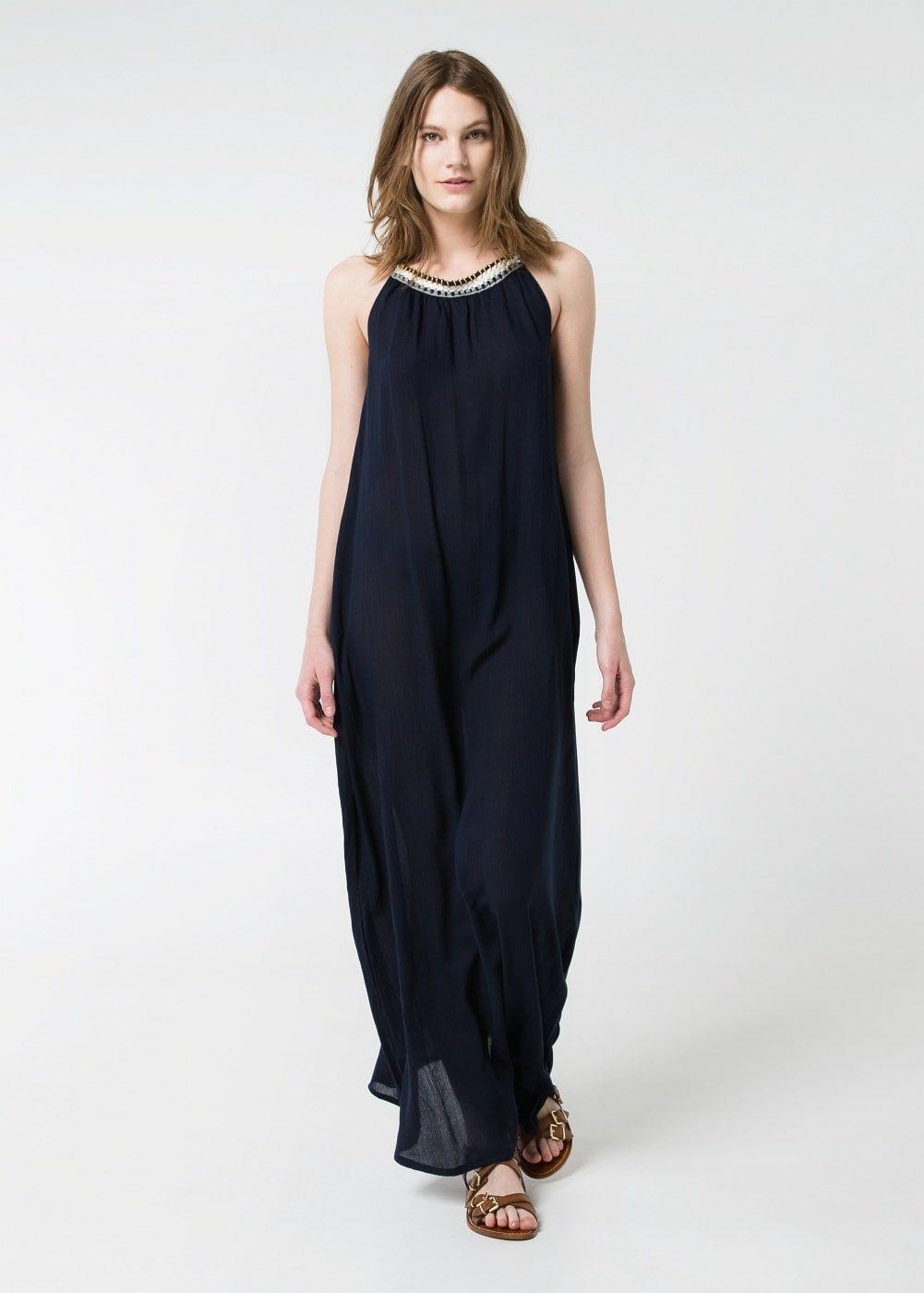 Vestido halter largo - Mujer in 2019 | Ideas for wear | Vestidos ...
