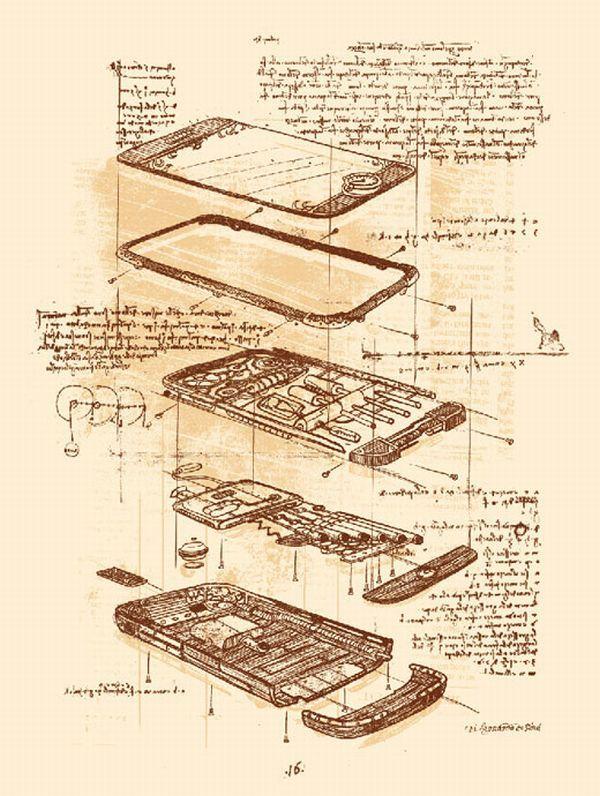 #iphone #developing #sketch  #illustration  #leonardodavinci #style