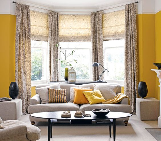 What Your Paint Color Says About You Bay Window Living Room Living Room Windows Yellow Living Room