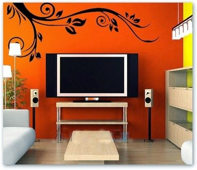 SYGA Floral Design Wall PVC Vinyl Sticker Price in India Buy
