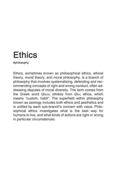 004 BRANCHES OF PHILOSOPHY. [3/8] philosophy typography