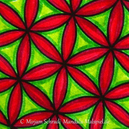 Blume Des Lebens Zum Ausdrucken Ausmalbild Mandalas Für Erwachsene
