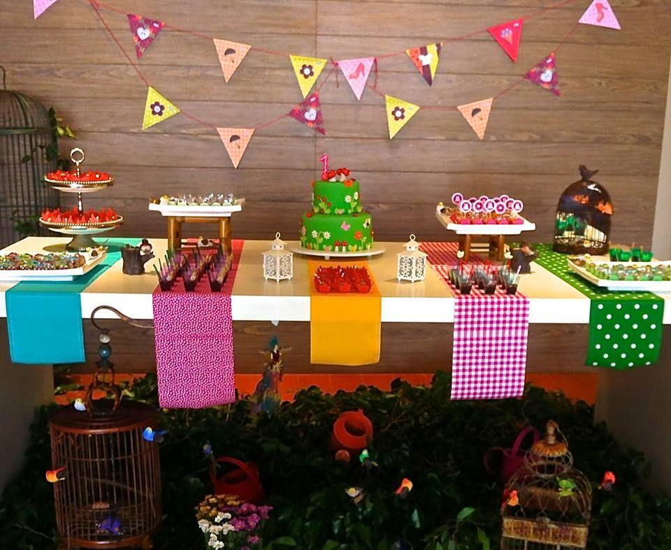 1cc895e96 Mesa para aniversário com tema festa Junina | Ideias | Party, Farm ...