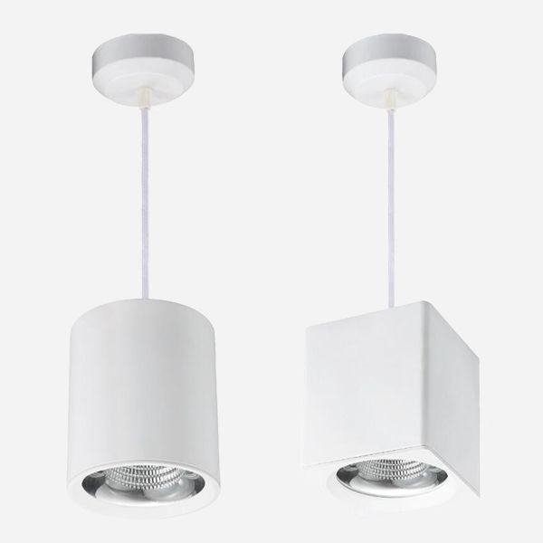 Mutiple Installation Way Surface Mounted Suspenstion Make The Downlight Widely Used For Commercial