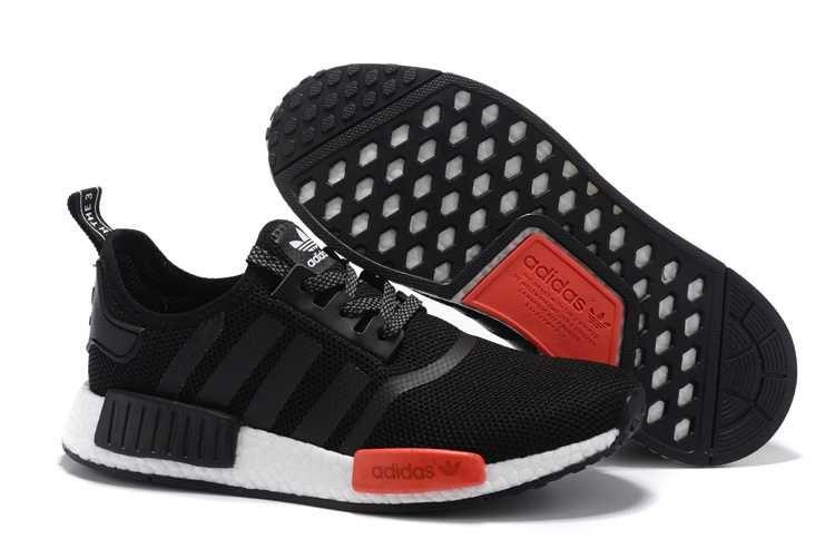 new product abc03 e9e3f ... 1914 adidas nmd runner dam herr svart röd se724523hulihjkx