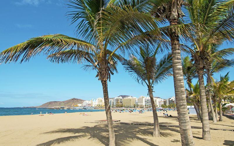 Naturreservat på Gran Canaria flyter over av søppel