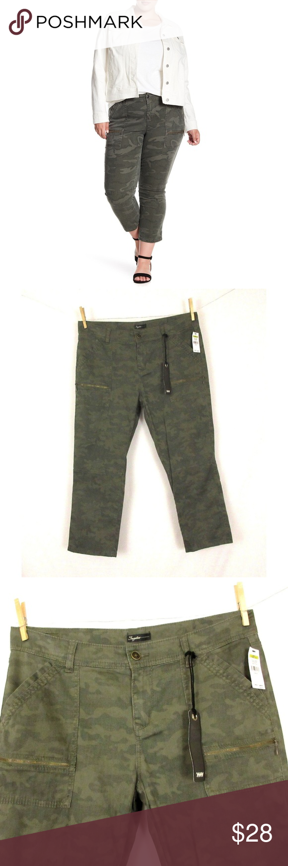 68b919f6a8a16 NEW Supplies by Union Bay 'Norma' Camo Crop Pants Cute pair of pants from