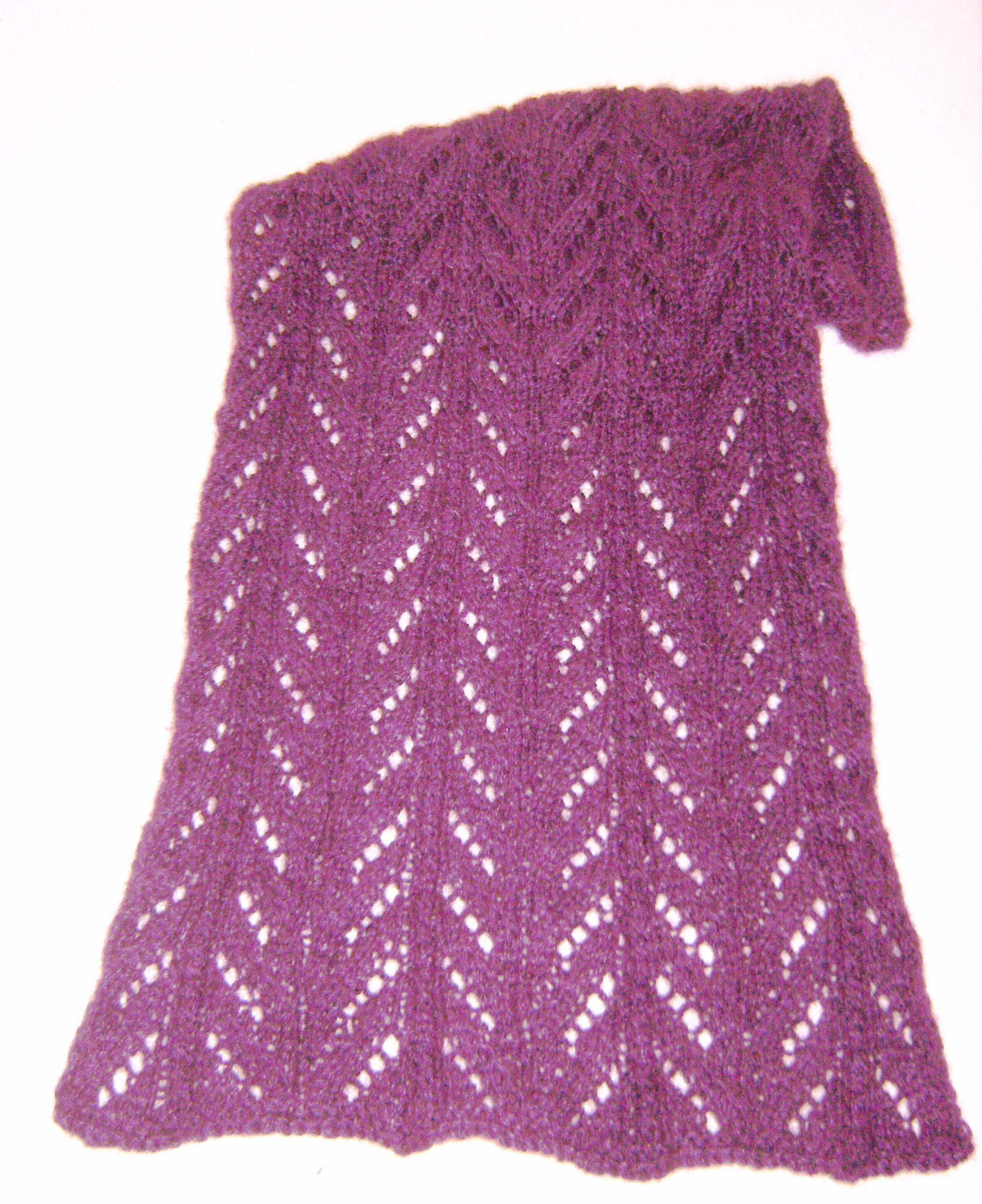Curly Q Scarf--Knitting Loom Pattern (eBooks) | Loom knitting by Val ...
