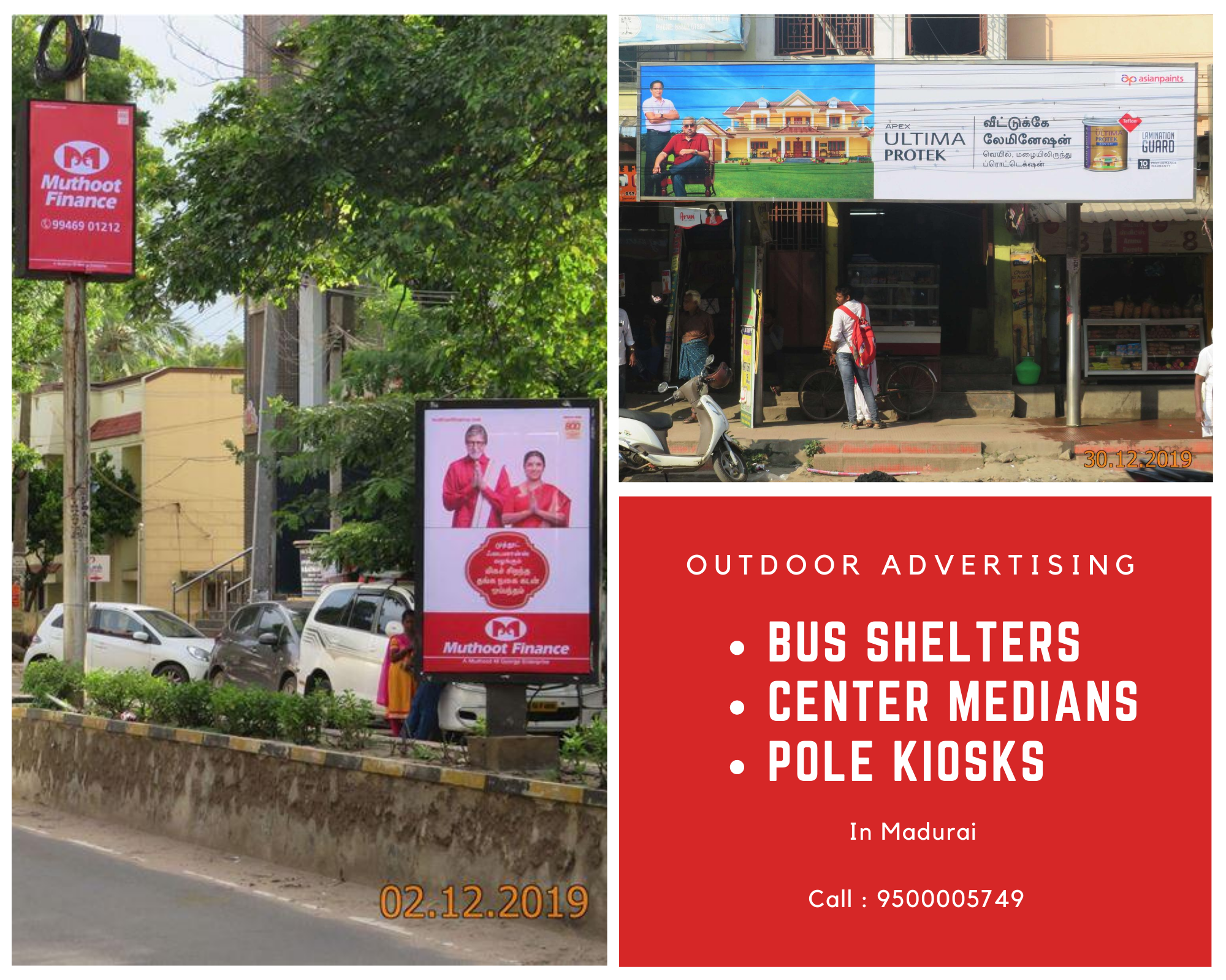 📢 Outdoor Advertising in Madurai,  🔸️Bus Shelters 🔸️Center Medians 🔸️Pole Kiosks  For OutOfHome #AdvertisingCampaign Booking ☎ 9500005749 !  #madurai #tamilnadu #busshelter #outdooradvertising #advertisingagency #advertising #maduraijunction #marketingagency #creativeagency #business #ads #campaign #brandactivation #brandmanagement #advertisment #ooh #mediaagency #oohadvertising #outofhome #outofhomemedia #outofhomeadvertising #advertisingcampaign #mediaplanning #campaignmanagement.