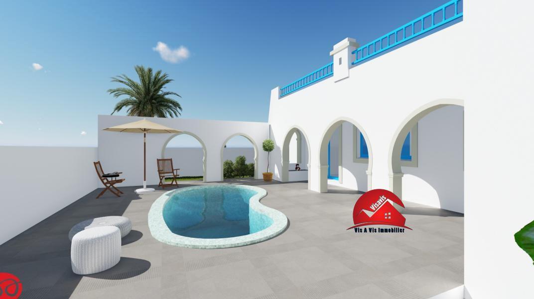 Faire construire sa villa à Djerba Tunisie Projets à Djerba
