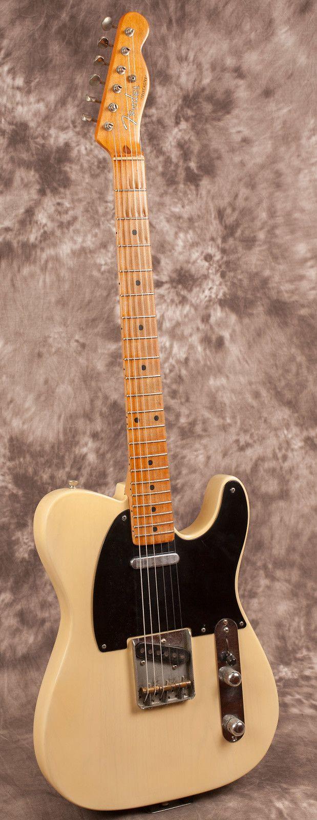 Fender Telecaster Blonde 1953 Vintage Guitar Pinterest James Burton Wiring Diagram Butterscotch Reverb