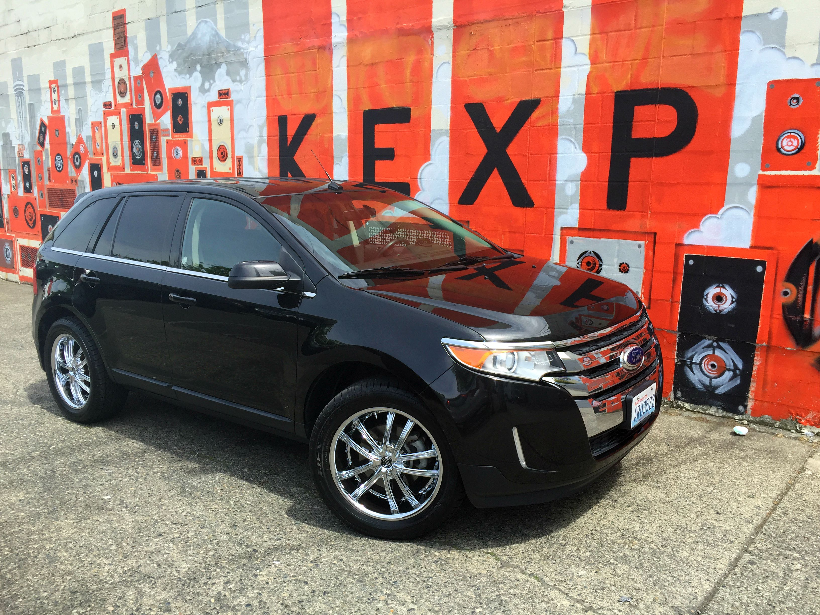 2013 ford edge on 20 wheels 2crave 21