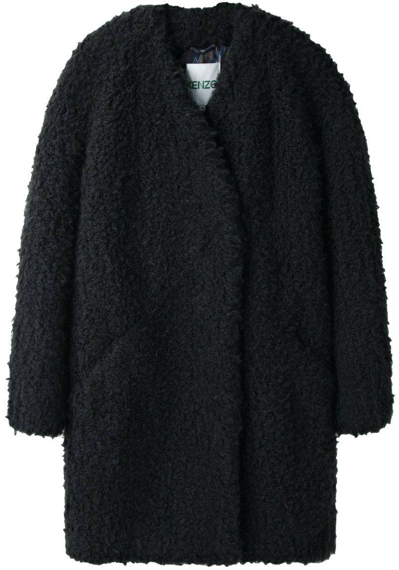 Kenzo   Faux Fur Coat  cf484bb1c
