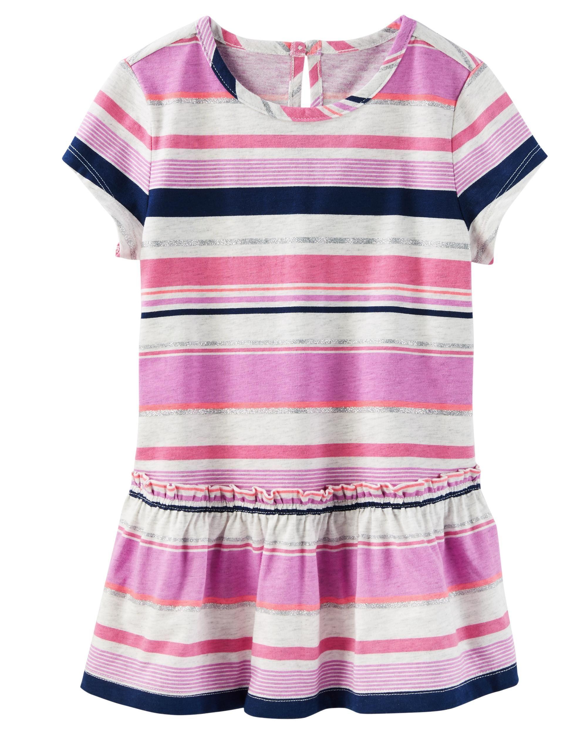 11eb5f9f9 Toddler Girl Multi-Stripe Jersey Tunic