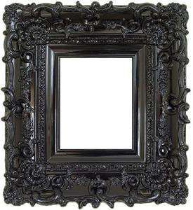 High Gloss Lacquer Ornate Photo Picture Frame Chic Shabby 12x16 Ornate Frame Small Photo Frames Boarders And Frames