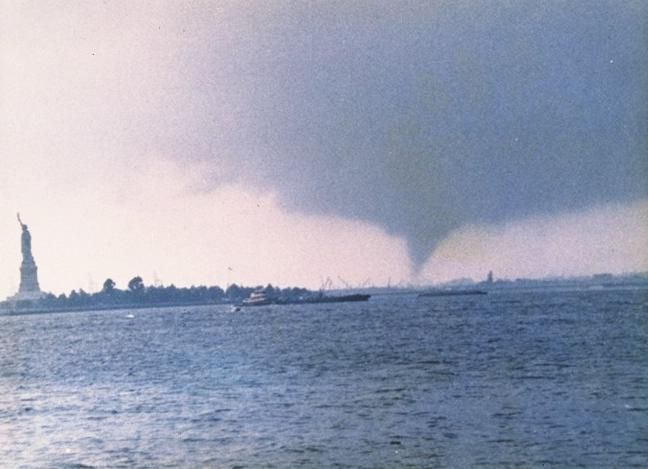 A tornado hit a beachfront area in New York City, confirmed the National Weather Service (NWS). franchiseherald.com