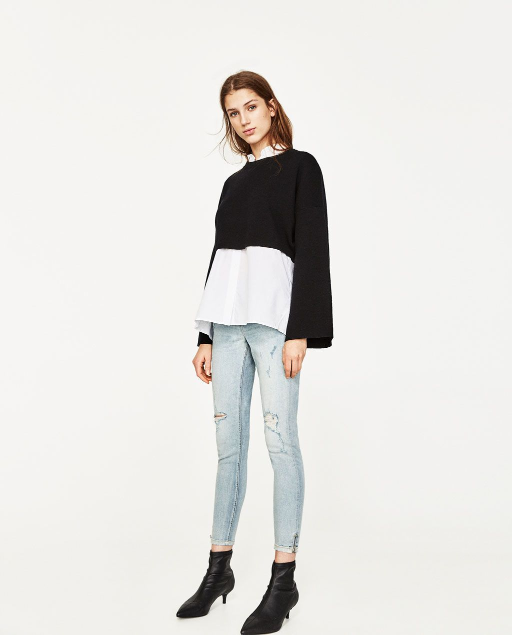 d76430a694 MID-RISE SKINNY JEANS-NEW IN-WOMAN-COLLECTION SS/17 | ZARA Singapore ...