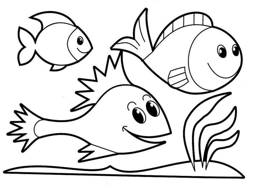 mewarnai gambar binatang gambar mewarnai hewan laut