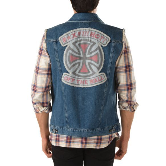 d0d4c8ce74a664 Vans x Independent Denim Vest