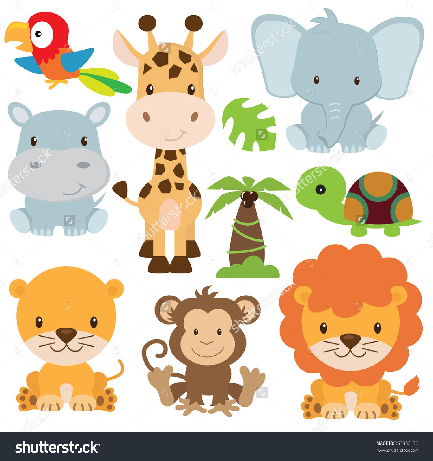 Image result for Free Animal SVG Files Baby jungle