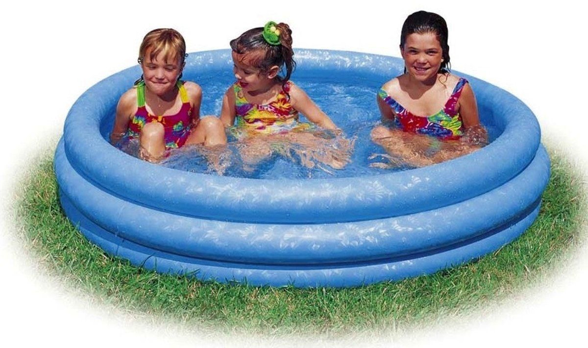 Intex Kiddie Pool Kids Summer Colorful Design 58 x 13