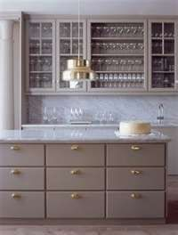 greige cabinets with carerra marble- can't decide if i like this color???