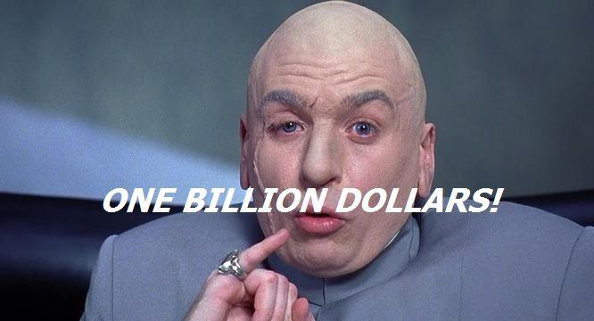 $1 billion to restore USPS service standards? Did the CBO get it wrong   Dr  evil, Postal worker, 1 billion dollars