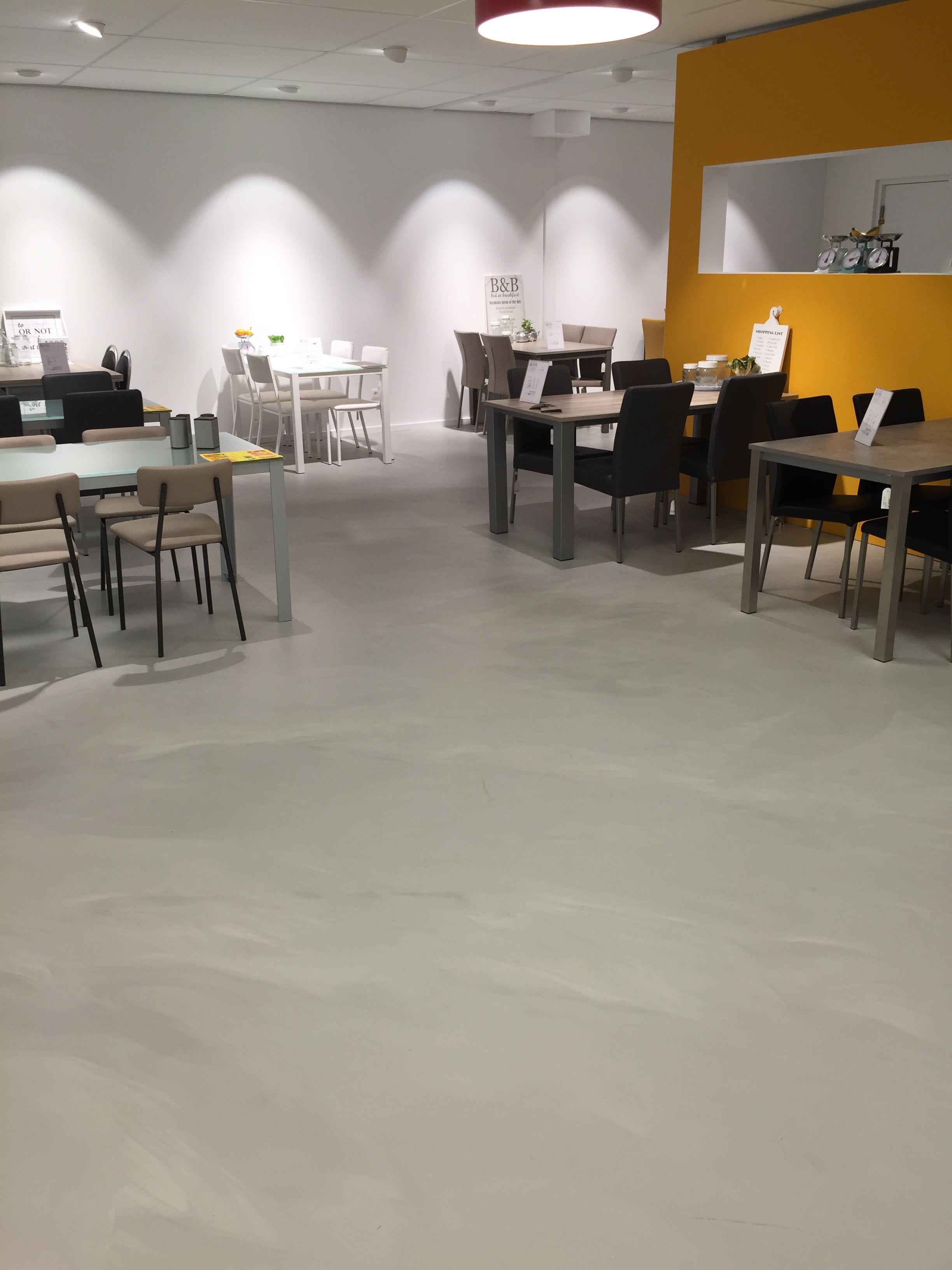 gietvloer betonlook | beton vloer woonkamer | Pinterest