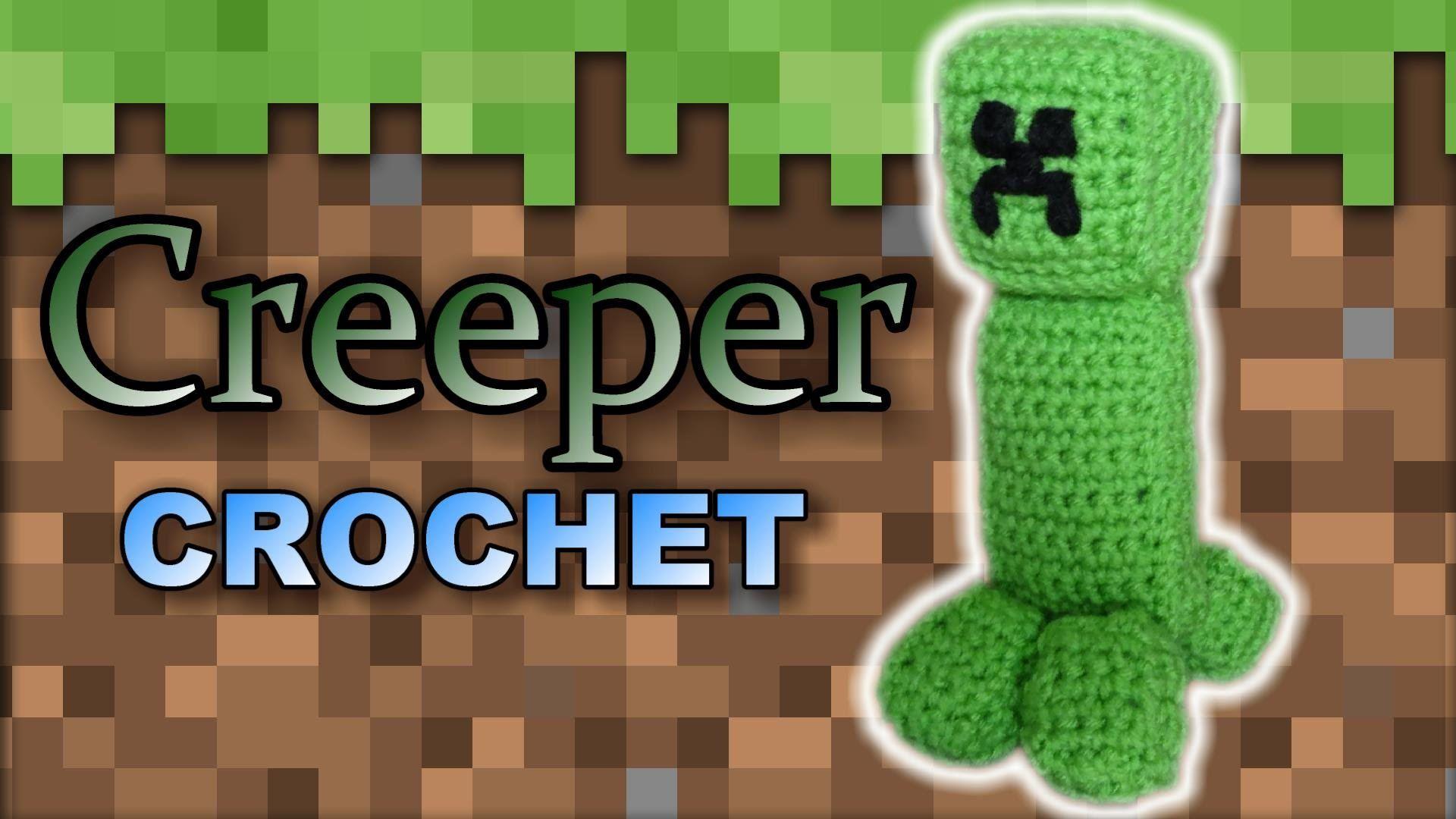 minecraft+crochet+amigurumi | Minecraft Creeper Crochet - Easy ...