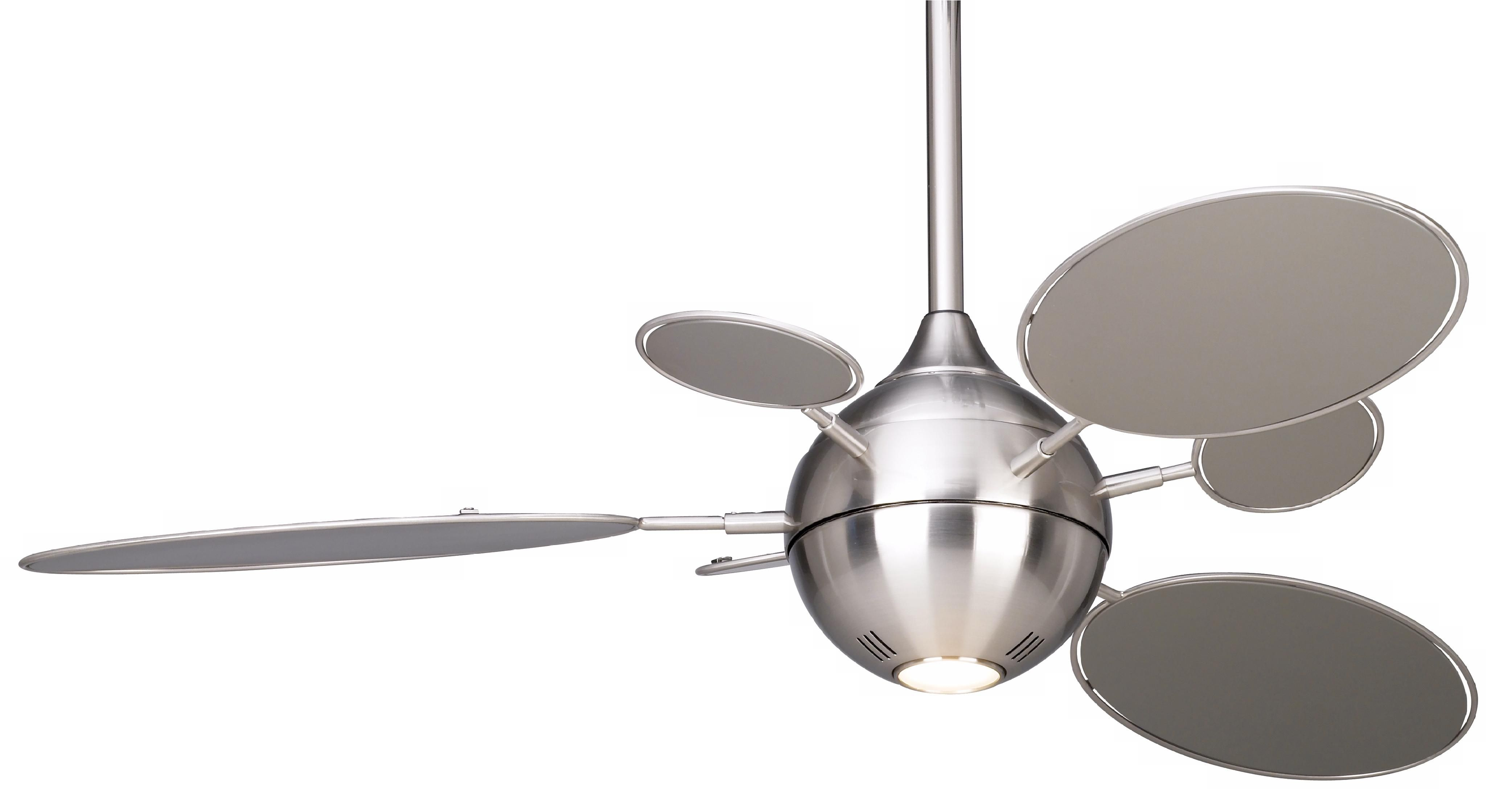 54 Minka Aire Cirque Brushed Nickel Ceiling Fan Brushed Nickel