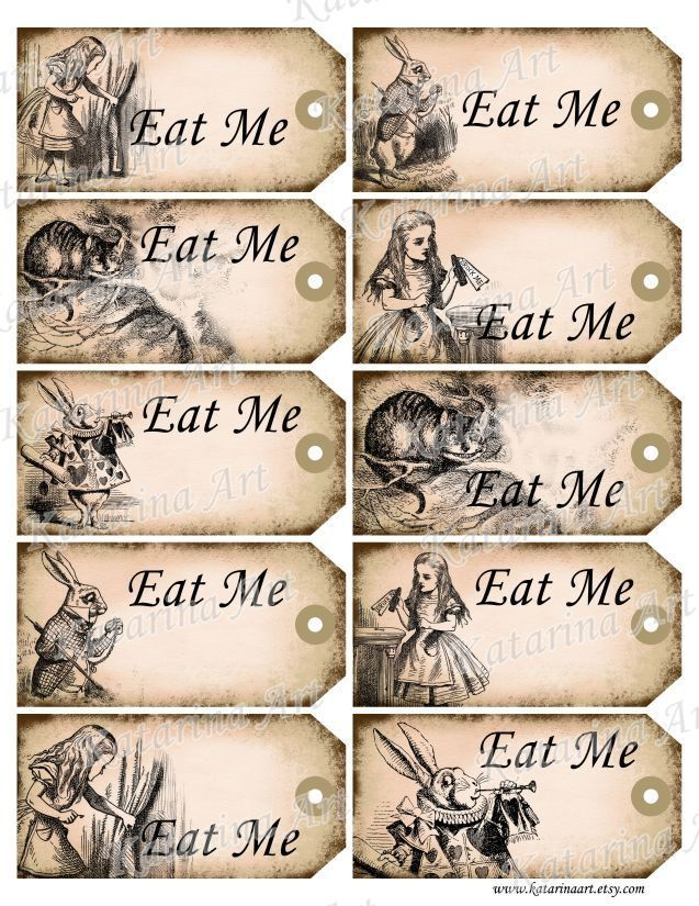 Alice in wonderland eat me tags printable alice in wonderland 7 best images of eat me drink me printable templates free printable alice in wonderland drink me tag mad hatter tea party drink me tags free and alice in pronofoot35fo Gallery
