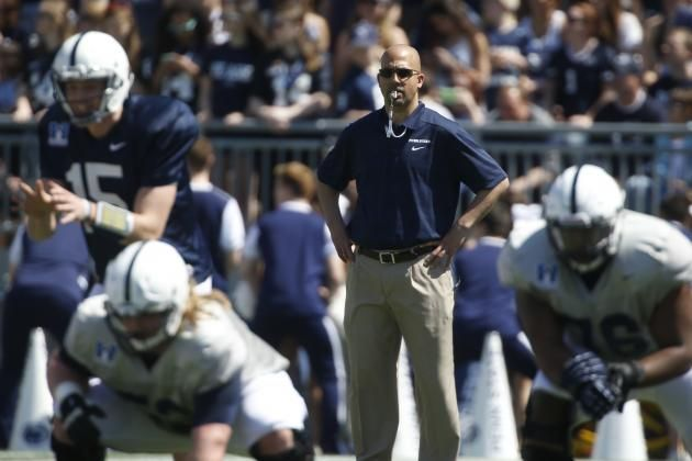 Penn State Football James Franklin S 5 Biggest Concerns Post Spring Practice James Franklin Big Ten Football Football