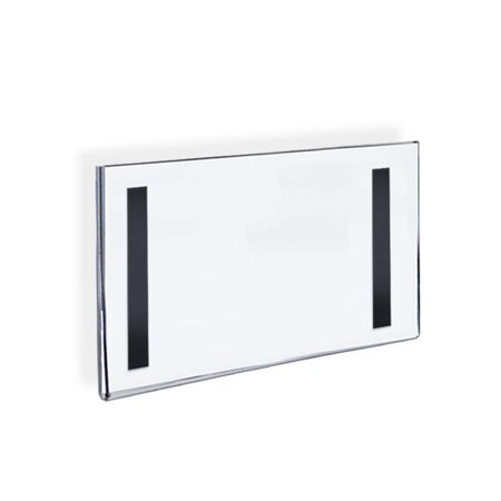 Workshop Series 8 5 X 11 Acrylic Wall Sign Holder Black Border Side Insert Clear Wall Signs Poster Frame Sign Holder