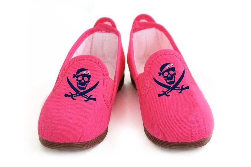 Bogotinas Lauren piratas color fucsia