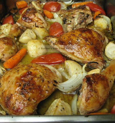 Lebanese Baked Chicken Recipe Yummly Recipe Lebanese Baked Chicken Recipes Chicken Recipes