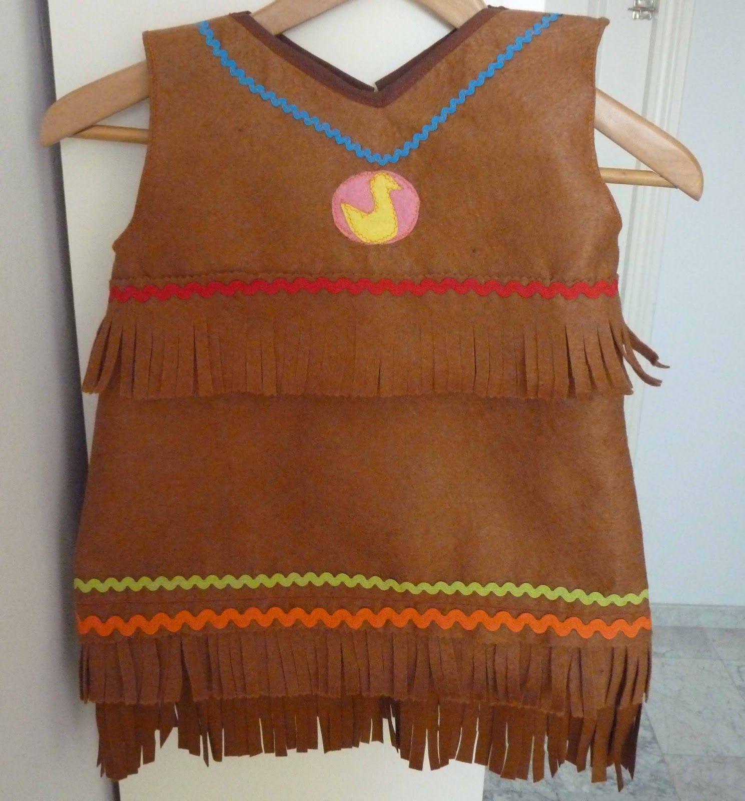 Las cositas de marga c mo hacer un disfraz de india para - Como hacer un disfraz de bebe ...