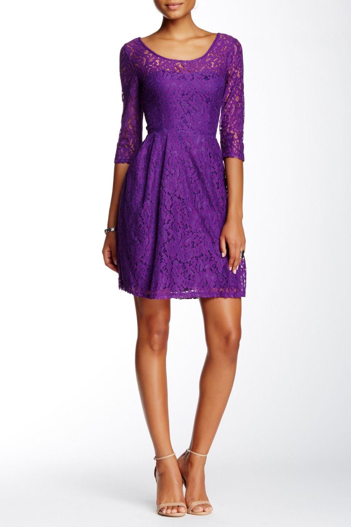 Betsey Johnson | Lace Skater Dress