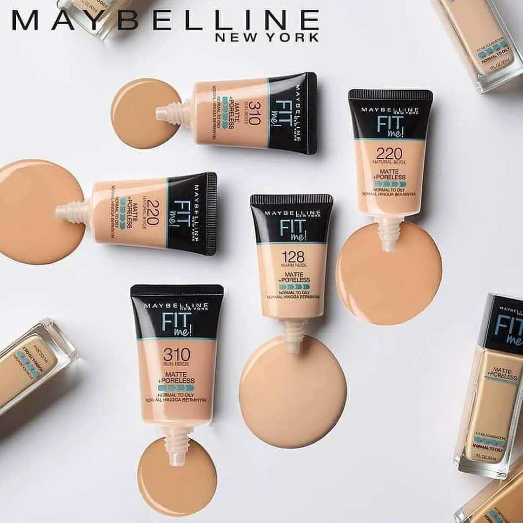 Maybelline Foundation Kini Ada Kemasan Kecilnya 18ml Jadi Cocok Banget Buat Kalian Yang Mau Coba2 Dulu Pakai Maybellin