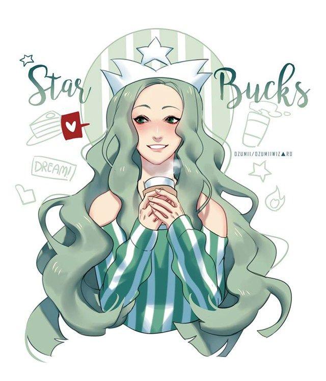 Les Logos De Fast Food Transformes En Personnages De Manga