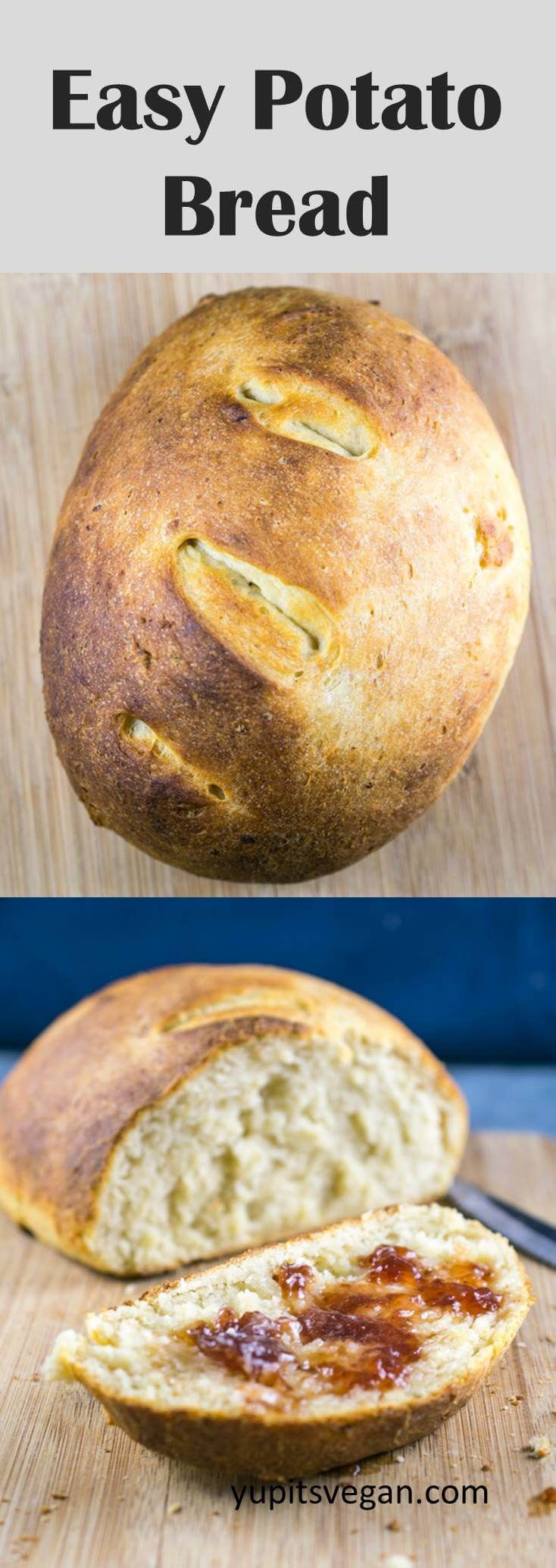 Easy Potato Bread No Fuss Needed This Quick And Easy Bread Can Be Made With Freshly Cooked