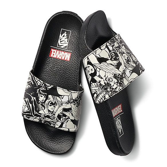 0d2436cb87 Vans X Marvel Slide-On