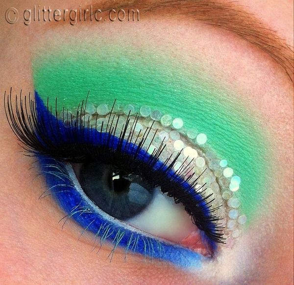 Ice Queen Makeup This Is An Absolutely Gorgeous Look Via