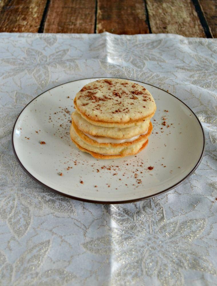 Love the flavors in these incredible Tiramisu Sandwich Cookies