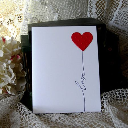 make your own valentine card decor | Scrapbppk | Pinterest ...