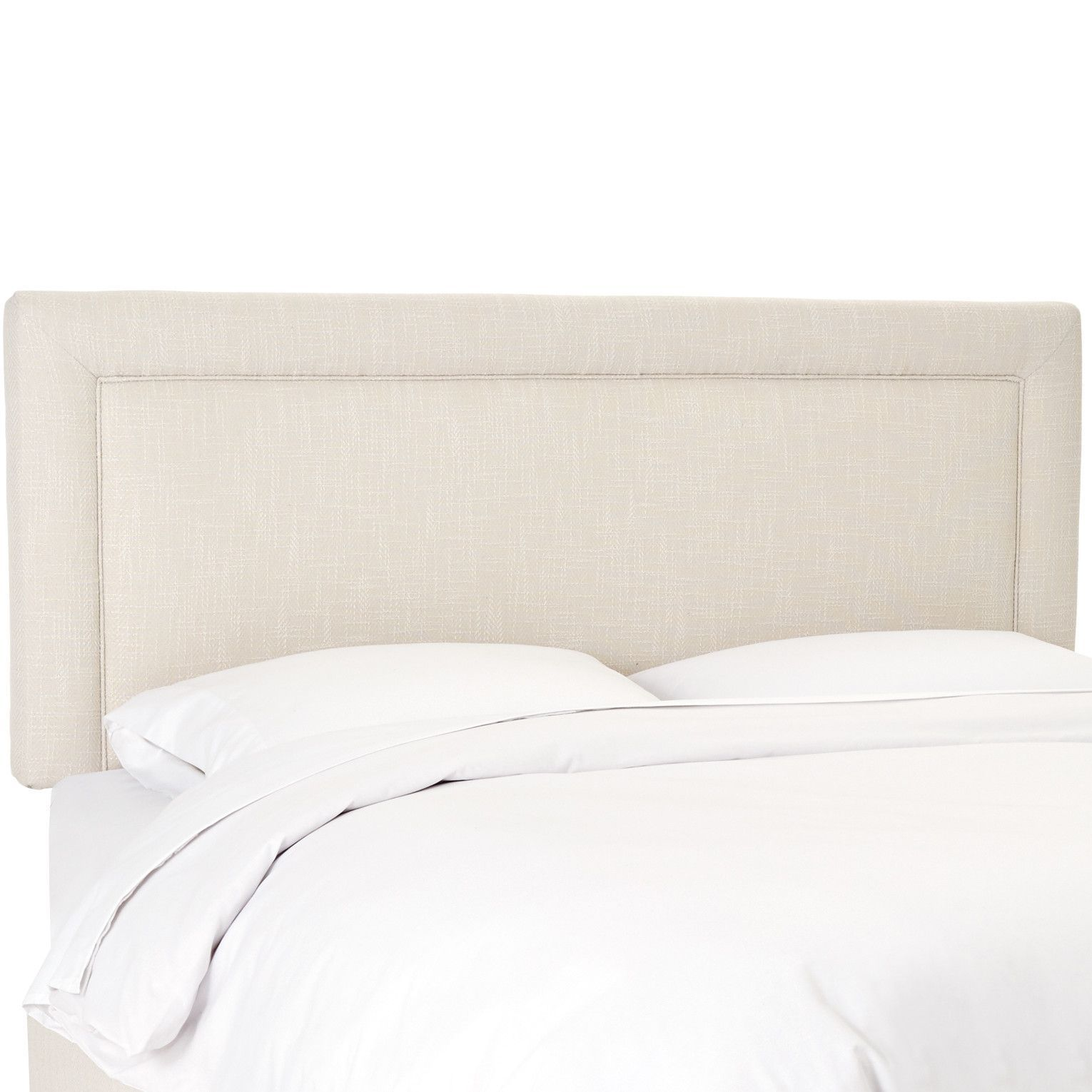 Robinson Border Upholstered Headboard Upholstered