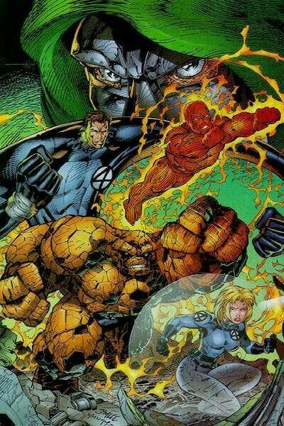 Dr Doom Vs Los 4 Fantasticos Fantastic Four Fantastic Four Comics Fantastic Four Marvel