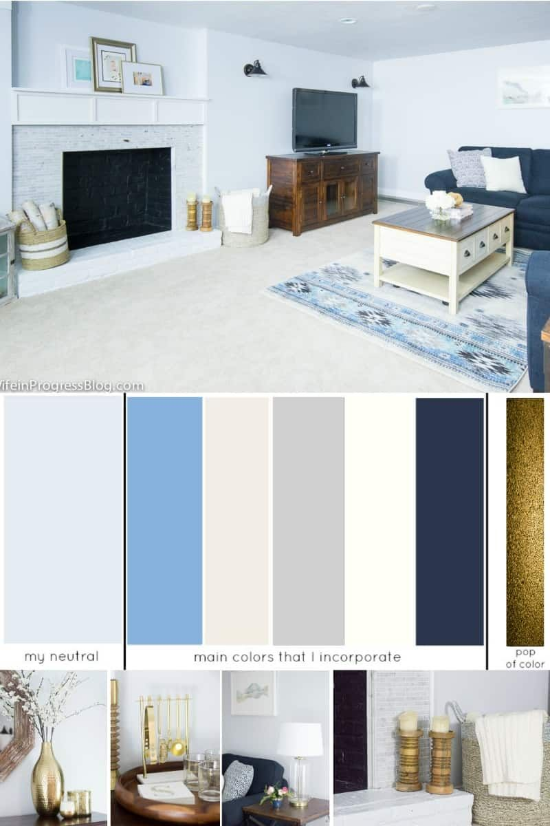 How To Choose A Whole House Color Scheme Color Palette For The